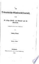Das Tridentinische Glaubensbekenntni   durch die Heilige Schrift  die Vernunft und die Geschichte nachgewiesen und erl  utert