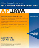 Addison Wesley s Review for the AP Computer Science Exam in Java