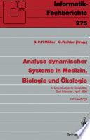 Analyse dynamischer Systeme in Medizin  Biologie und   kologie