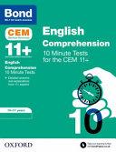 English Comprehension