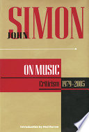 John Simon on Music
