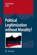download ebook political legitimization without morality? pdf epub