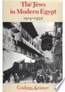 The Jews in Modern Egypt, 1914-1952