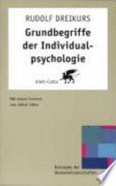 Grundbegriffe der Individualpsychologie