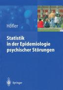 Statistik in der Epidemiologie psychischer Störungen
