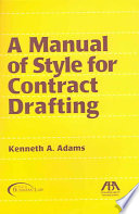 a-manual-of-style-for-contract-drafting