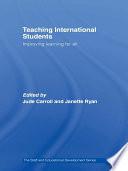 Teaching International Students