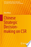 Chinese Strategic Decision Making On Csr