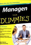 Managen Voor Dummies 3e Editie Druk 3