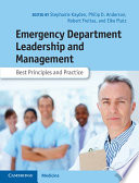 Emergency Department Leadership and Management