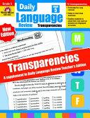 Daily Language Review Transparencies  Grade 5