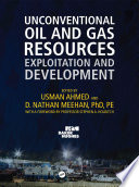 Unconventional Oil and Gas Resources
