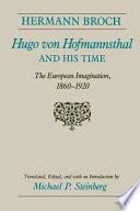 Hugo Von Hofmannsthal and His Time