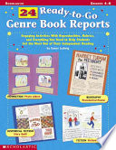 24 Ready To Go Genre Book Reports