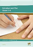 Schreiben nach Plan - Klasse 7-8