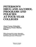 Peterson S Drug And Alcohol Programs And Policies At Four Year Colleges