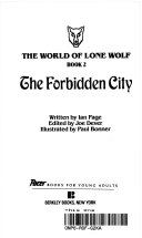 The Forbidden City : star, the wizard, embarking on a perilous...