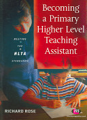 Becoming a Primary Higher Level Teaching Assistant