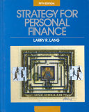 STRATEGY FOR PERSONAL FINANCE  FIFTH EDITION