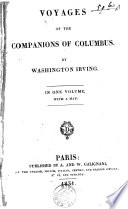 Voyages of the Companions of Columbus