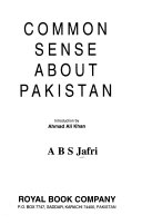 Common sense about Pakistan