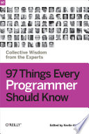 97 Things Every Programmer Should Know Book PDF