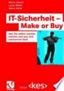 IT Sicherheit   Make or Buy