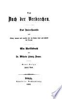 Das Buch der Verbrechen