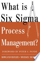 What is Six Sigma Process Management