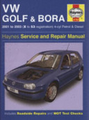VW Golf  and  Bora Service  and  Repair Manual