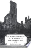 Church and Chronicle in the Middle Ages