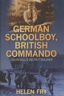 German Schoolboy  British Commando