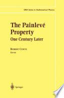 The Painlev   Property