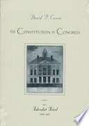 The Constitution in Congress