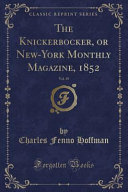 download ebook the knickerbocker, or new-york monthly magazine, 1852, vol. 39 (classic reprint) pdf epub