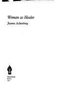 Woman as Healer Book Cover