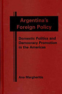 Argentina s Foreign Policy