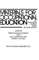 Materials for Occupational Education