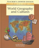 Pacemaker World Geography and Cultures