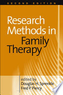 Research Methods In Family Therapy Second Edition