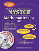 The Best Teachers  Test Preparation for the NYSTCE Mathematics Content Specialty Test Content Specialty Test  004