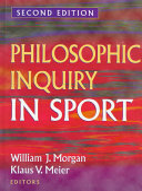 Philosophic Inquiry in Sport