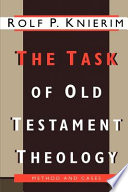 The Task of Old Testament Theology