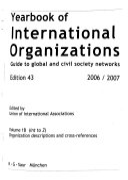 Yearbook of International Organizations 2006-2007