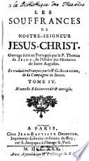 Les Souffrances De Nostre-Seigneur Jesus-Christ