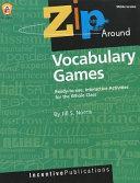 Zip Around Vocabulary Games