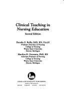 Clinical Teaching in Nursing Education