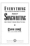 Everything You Always Wanted to Know about Songwriting But Didn t Know who to Ask Book PDF