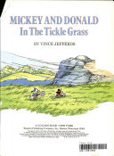 Mickey and Donald in the tickle grass