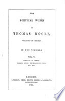 The Poetical Works of Thomas Moore  Evenings in Greece   Ballads  songs  miscellaneous poems  etc   etc Book PDF